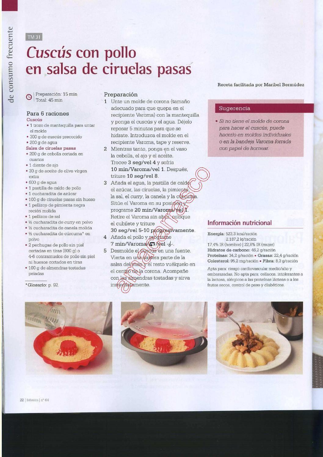 Revista thermomix nº64 el dulce de moda por argent