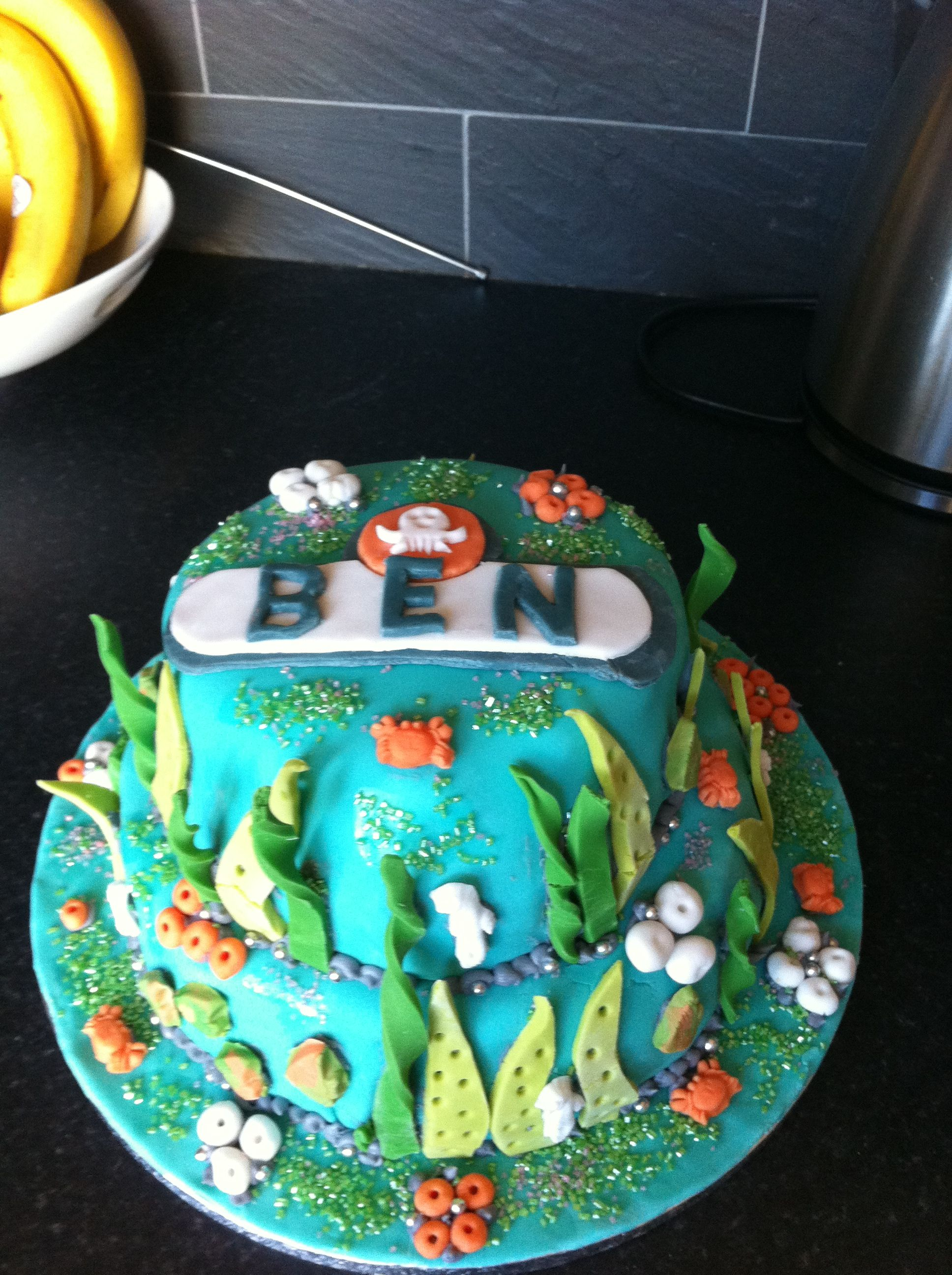 Octonauts birthday cake Cakes Cupcakes Pinterest Birthday
