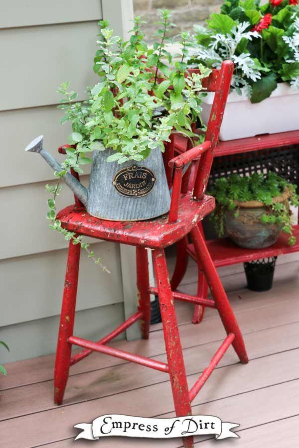 Gallery Of Garden Art Chair Ideas Painting Kitchen