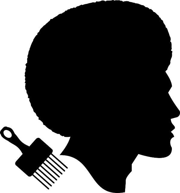 African American Black Silhouette Clip Art Afro Png Download 597 640 Free Transparent African Silhouette Clip Art Black Woman Silhouette Black Silhouette