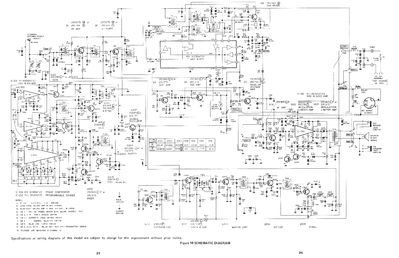 SHARP CB750A SCH Service Manual free download, schematics