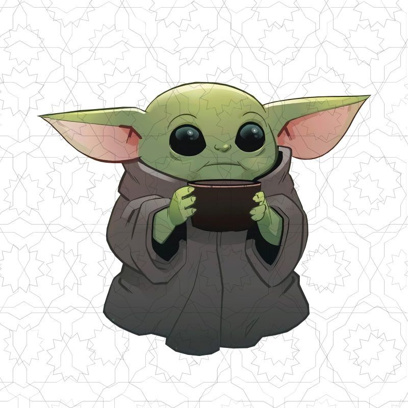Baby Yoda Baby Yoda The Mandalorian T Shirt Design Png Yoda Art Star Wars Drawings Star Wars Art