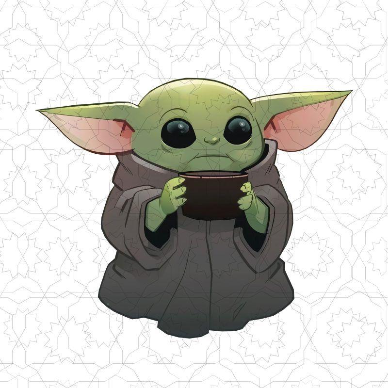 Baby Yoda Baby Yoda The Mandalorian T Shirt Design Png Yoda Art Star Wars Drawings Yoda Drawing