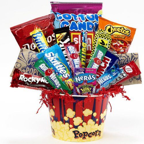 Junk Food Junky Snacks and Candy Bouquet Gift Basket - http ...