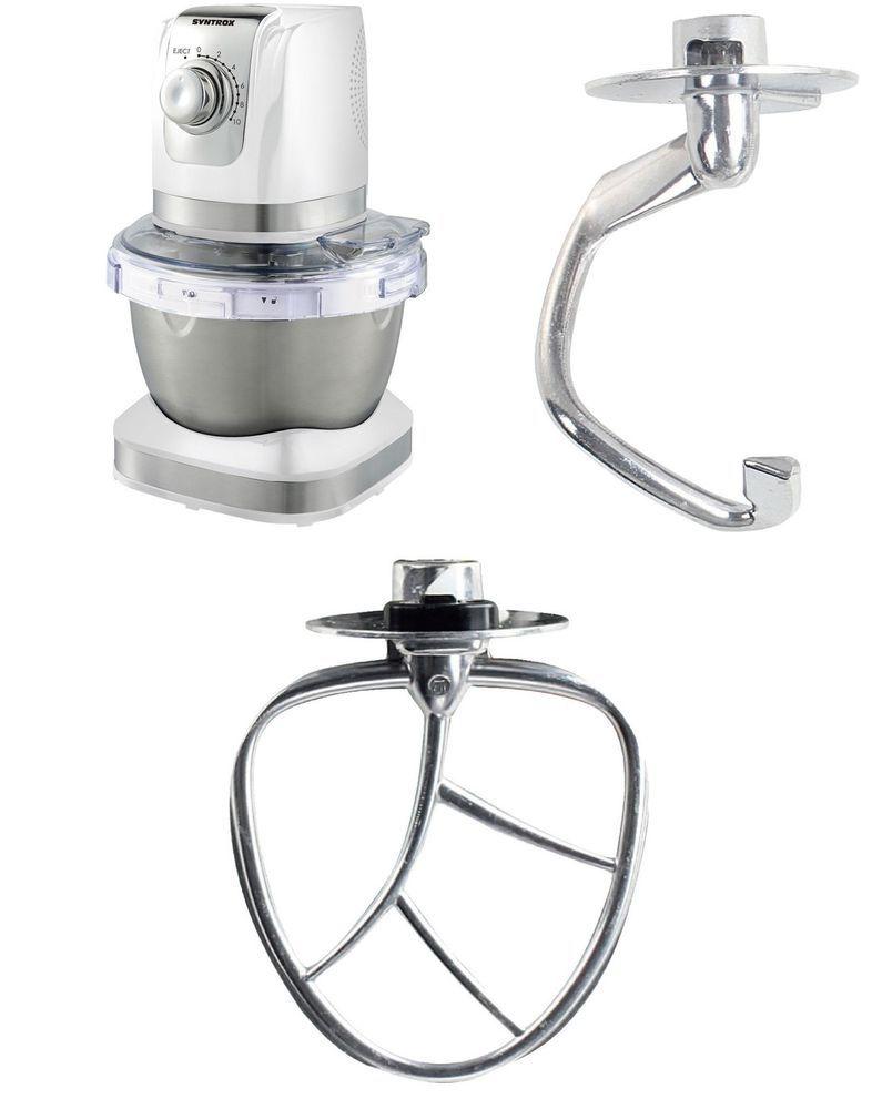 Details zu Küchenmaschine Syntrox KM-600W Edelstahl-Behälter - küchenmaschine jamie oliver