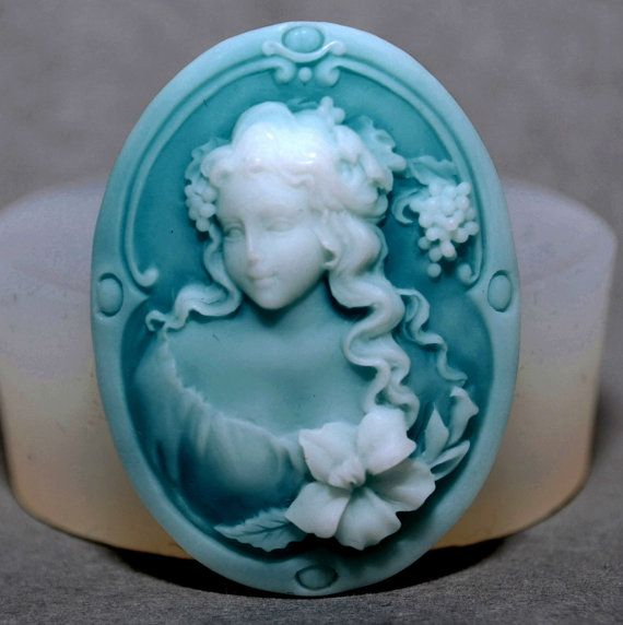 LADY ORNAMENT silicone mold sugarcraft resin fimo polymer clay mould soap fimo wax plaster icing chocolate food use food grade mould