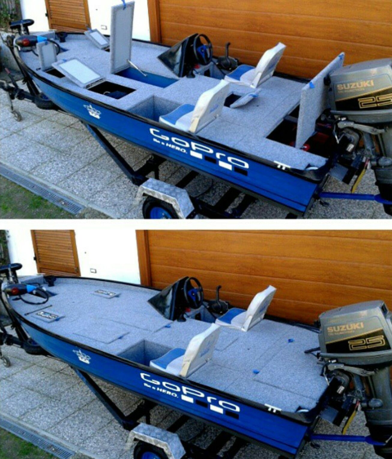 Aluminum Boat Accessories : Jon boat mod boats pinterest boating fish and