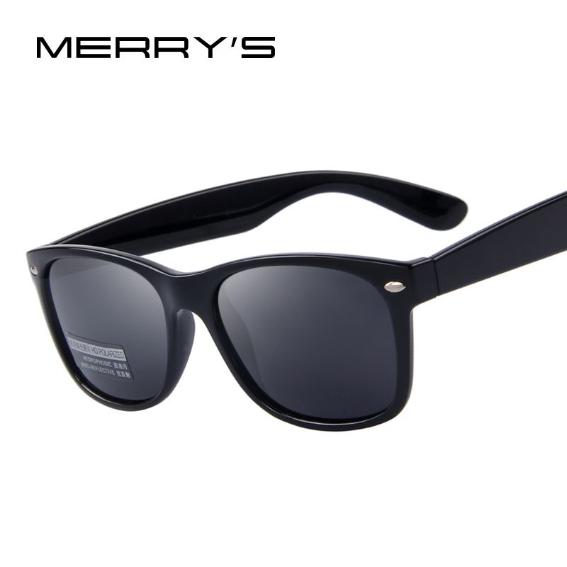 31c48de5e3f MERRY S Men Polarized Sunglasses Classic Men Retro Rivet Shades Brand  Designer Sun glasses UV400  3 Click the VISIT button for detailed  description