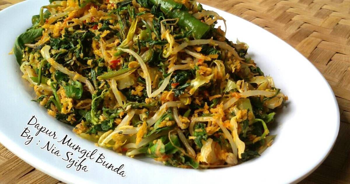 Resep Urap Urap Sayuran Oleh Nia Syifa Resep Makanan Sayuran Resep