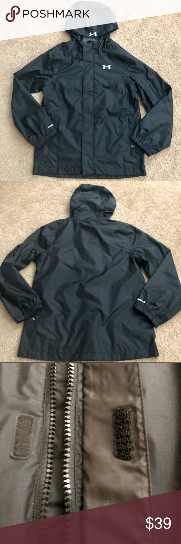 618c8b333 Youth Under Armour Rain Jacket in 2018