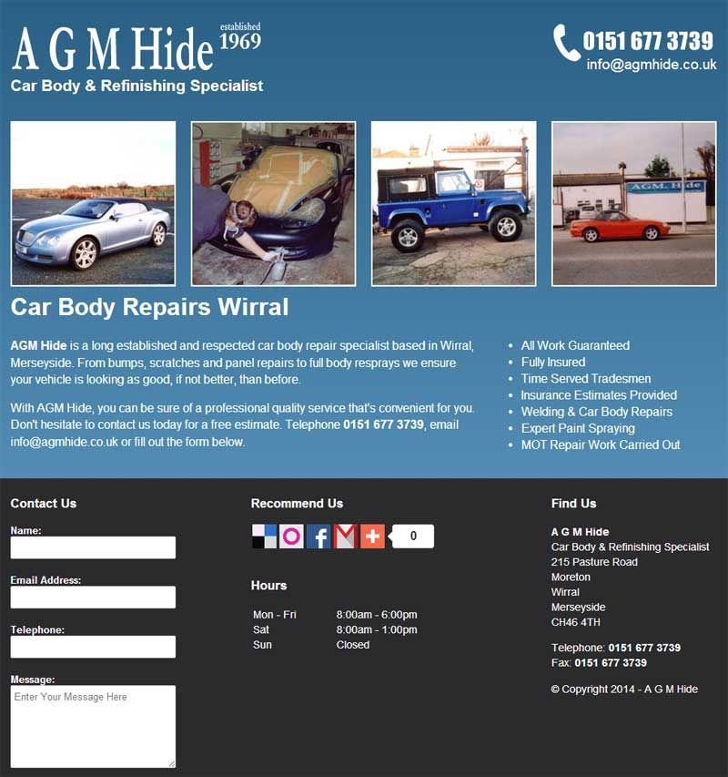 Agm Hide Is A Long Established And Respected Car Body Repair