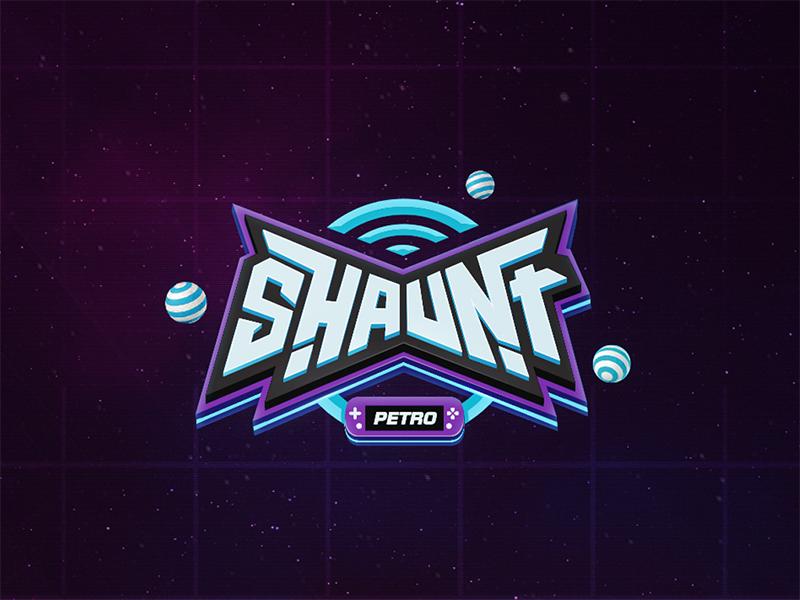 Shaunt - Logo Design | Game UI | Game logo design, Video game logos