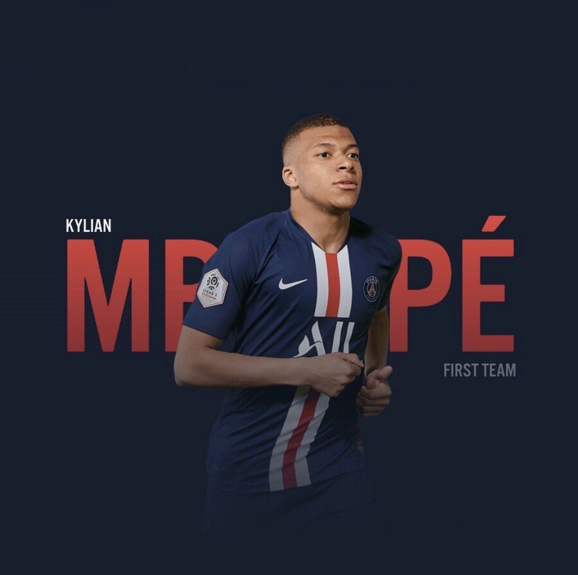 Kylian Mbappe On Twitter Psg One Team Football