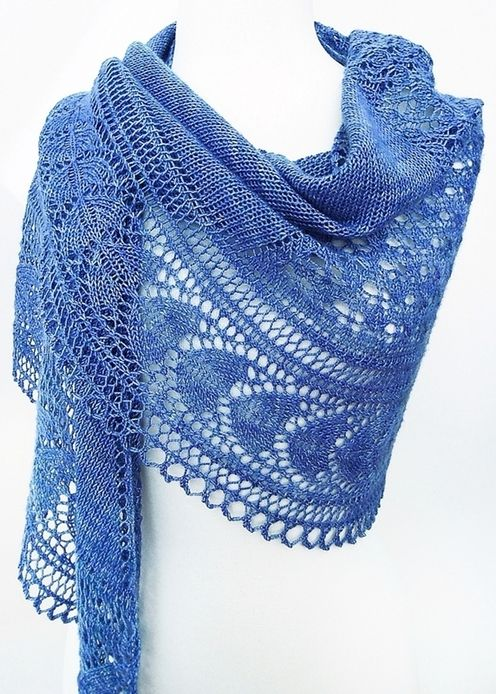 Design by Dee--Dee O\'Keefe--Holbrook Shawl | Knitting | Pinterest