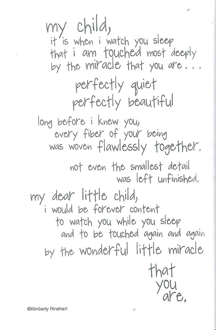My miracle baby quotes