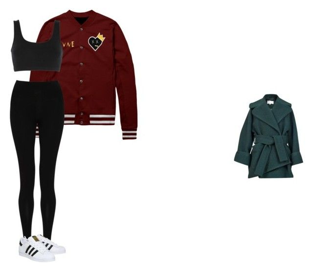 """""""street lover"""" by marcabaceira on Polyvore featuring Carven, adidas Originals, M&S Collection and adidas"""
