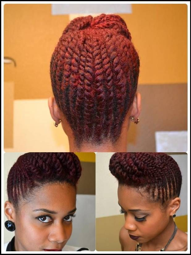 This tutorial is on youtube named two strand flat twist natural this tutorial is on youtube named two strand flat twist natural hair pompadour updo pmusecretfo Image collections