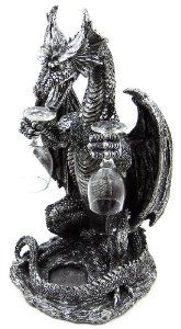 Amazon.com: Gothic Medieval Dragon Wine / Liquor Valet Holder: Home & Kitchen