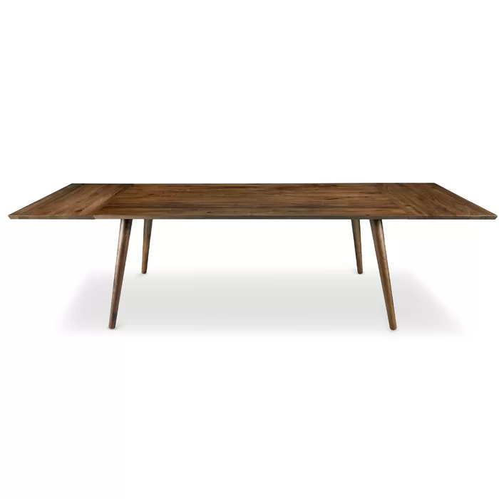 Bradly Extendable Solid Wood Dining Table Solid Wood Dining