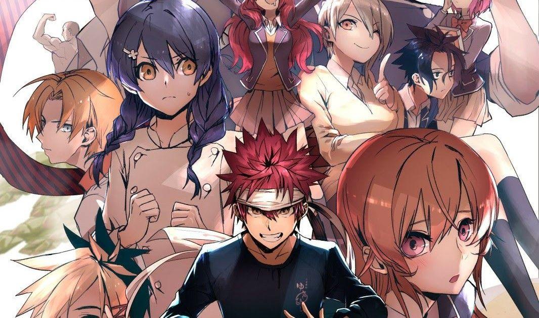 Wallpaper Anime Shokugeki No Souma