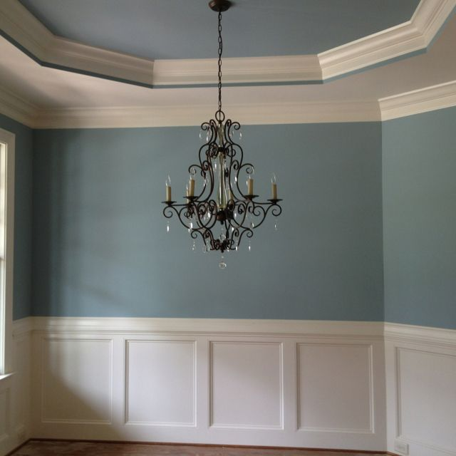 Painting Dining Room Chandelier: The Dining Room Chandelier