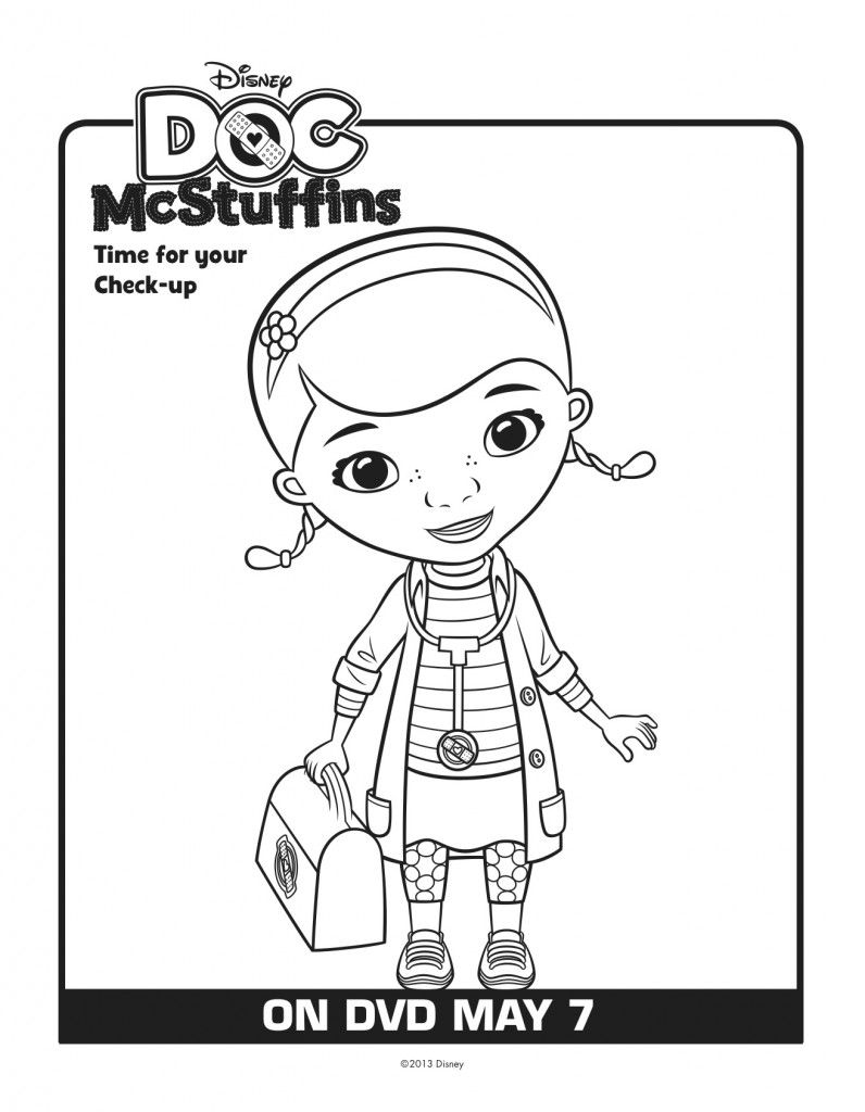 Free Doc Mcstuffins Printables Download Here Lady And The Blog Doc Mcstuffins Coloring Pages Coloring Books Free Coloring Pages