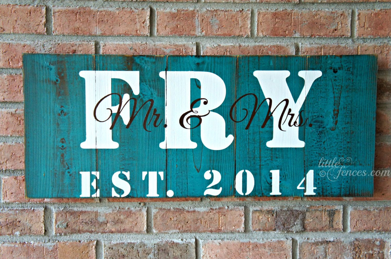 Family+Name+Signs+Handmade+Wood+Signs+Farmhouse+by+LittleFences