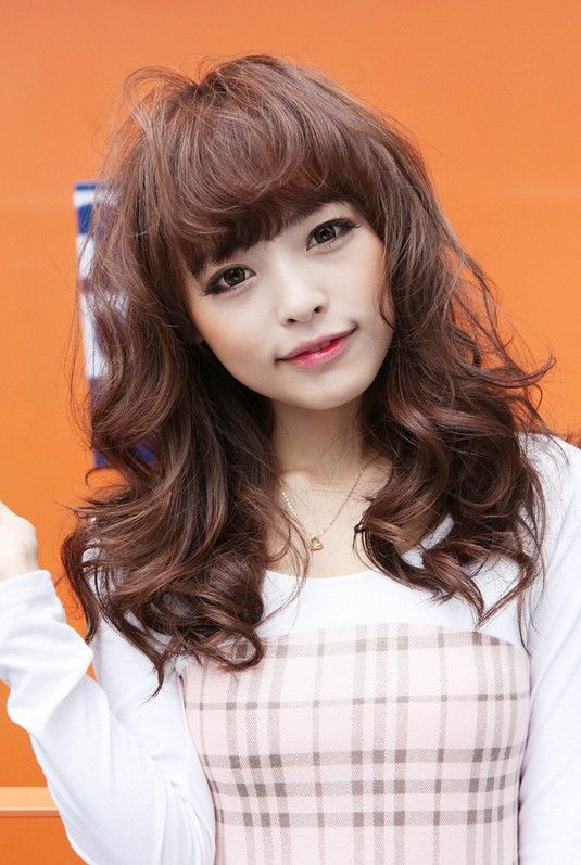 Asian Wavy Hairstyles For Long Hair : Sweet long japanese hairstyle for girls discover more ideas