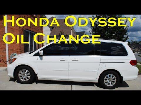 Honda Odyssey Oil Change 2007 2010 Youtube Honda Odyssey Oil Change Honda