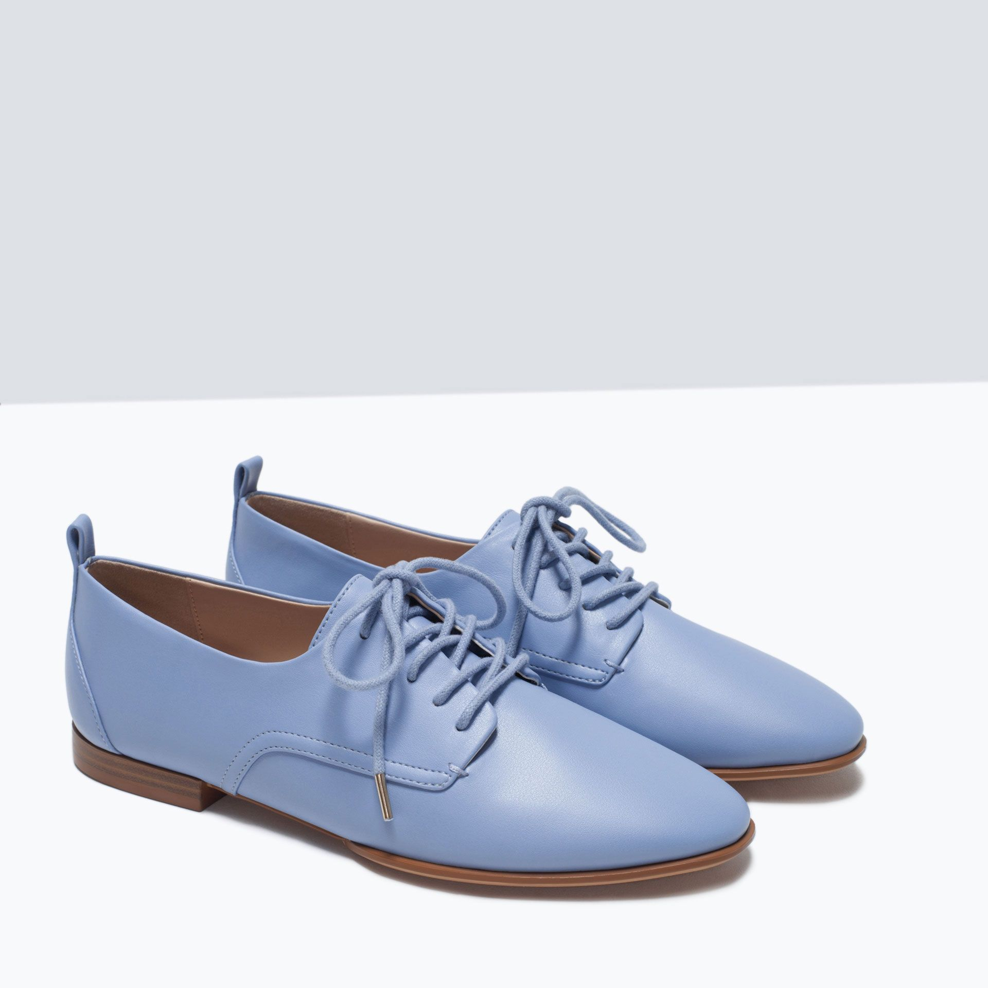 ZARA - SHOES & BAGS - SOFT BLUCHER