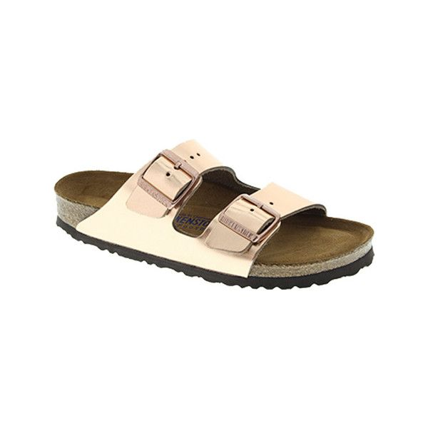 e70d5bebdfa4 Women s Birkenstock Arizona Soft Footbed - Metallic Copper Leather...  ( 135) ❤