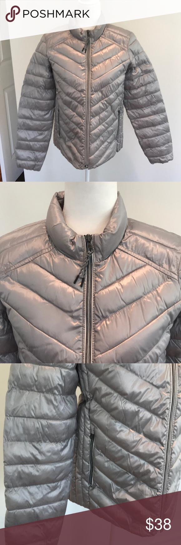 Gap Silver Lightweight Puffer Jacket Jackets Puffer Jackets Puffer [ 1740 x 580 Pixel ]