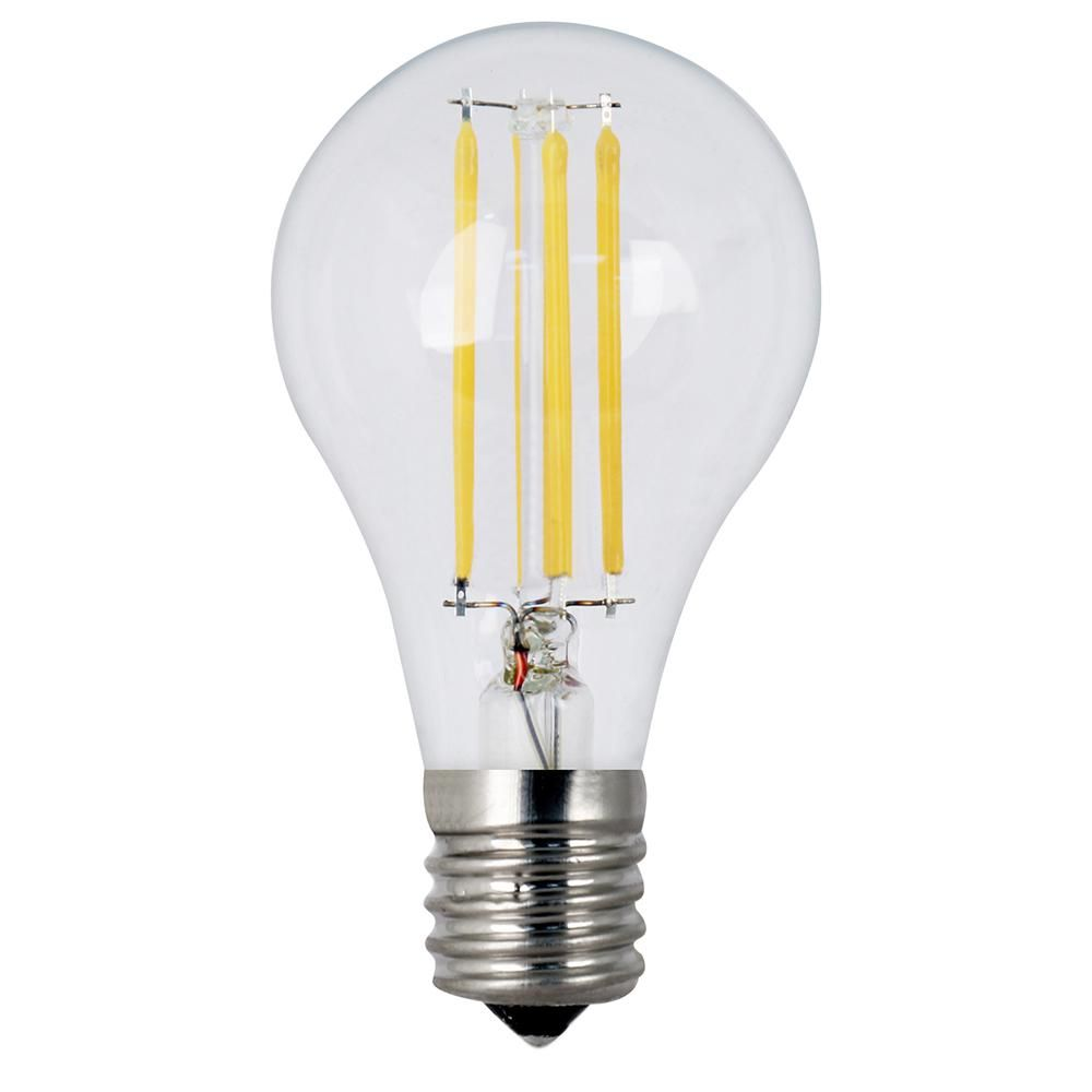 Feit Electric 40w Equivalent A15 Intermediate Dimmable Filament Clear Glass Led Ceiling Fan Light Bulb Soft White 2700k 24 Pack Bpa1540n827 Led 2 12 The Ho Light Bulb Different Light Bulbs Bulb