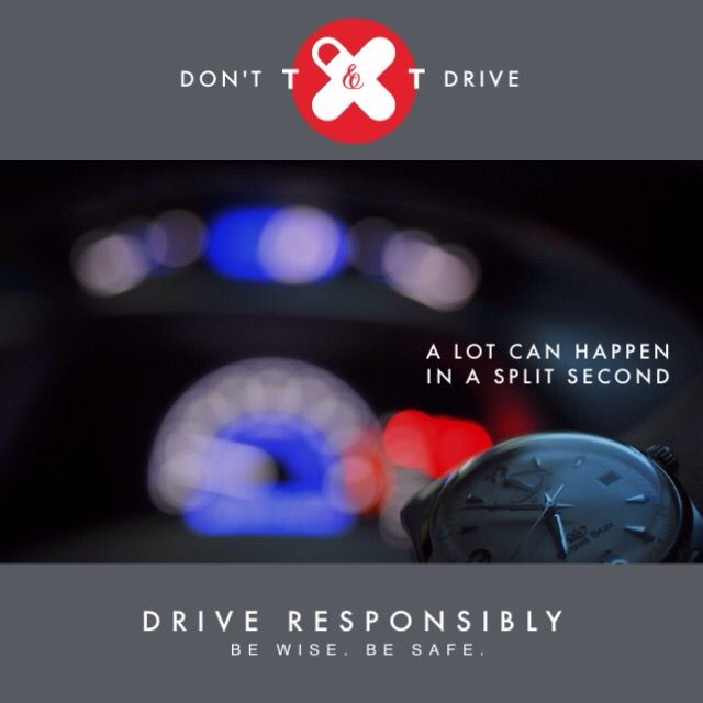 Holding & using mobile devices while #driving, be it a #phone or tablet, will get you in trouble – that is if you do not already endanger the lives of yourself, your passengers & other road users. Don't #text and drive. #NoTexting #BeSafe #BeWise #DriveResponsibly #ArriveSafely #madewithstudio