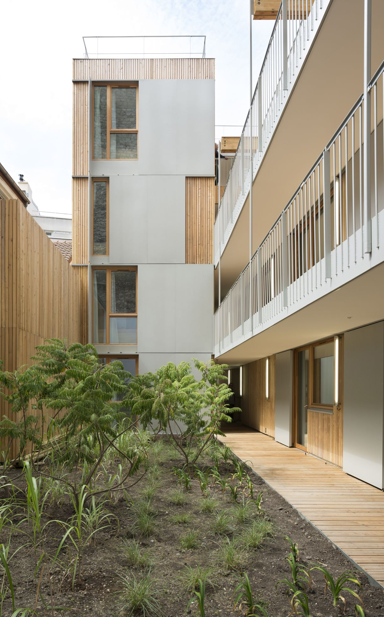 27 logements tudiants paris 20 ma trise d 39 oeuvre babin renaud architectes ma trise d 39 ouvrage. Black Bedroom Furniture Sets. Home Design Ideas