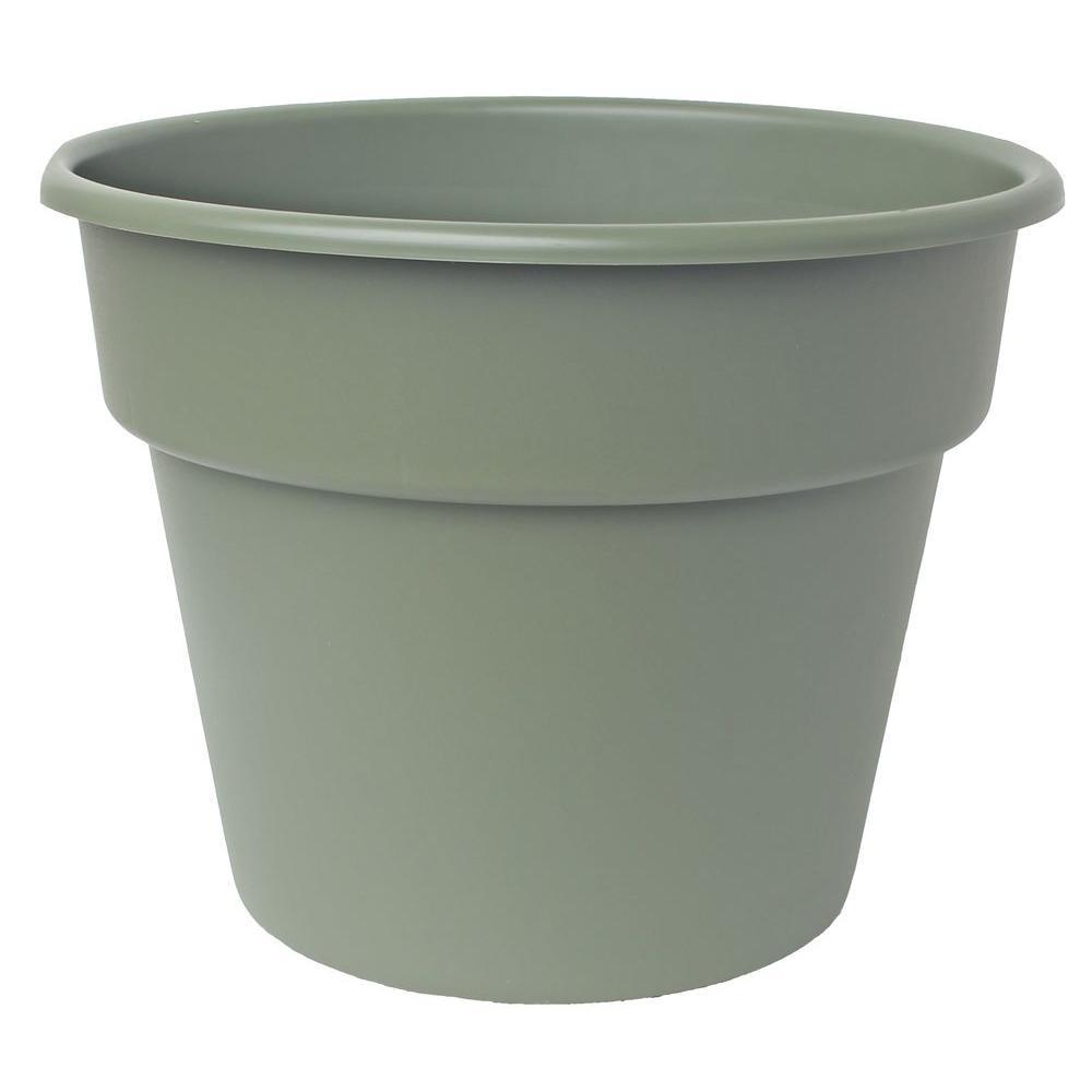 Bloem 20 X 17 25 Living Green Dura Cotta Plastic Planter Dc20 42 With Images Planter Pots Plastic Pots Planters