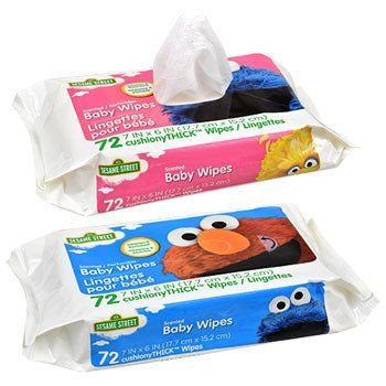 Sesame Street Hushables Scented Baby Wipes 72 Ct Packs Baby Wipes Wipes Scent