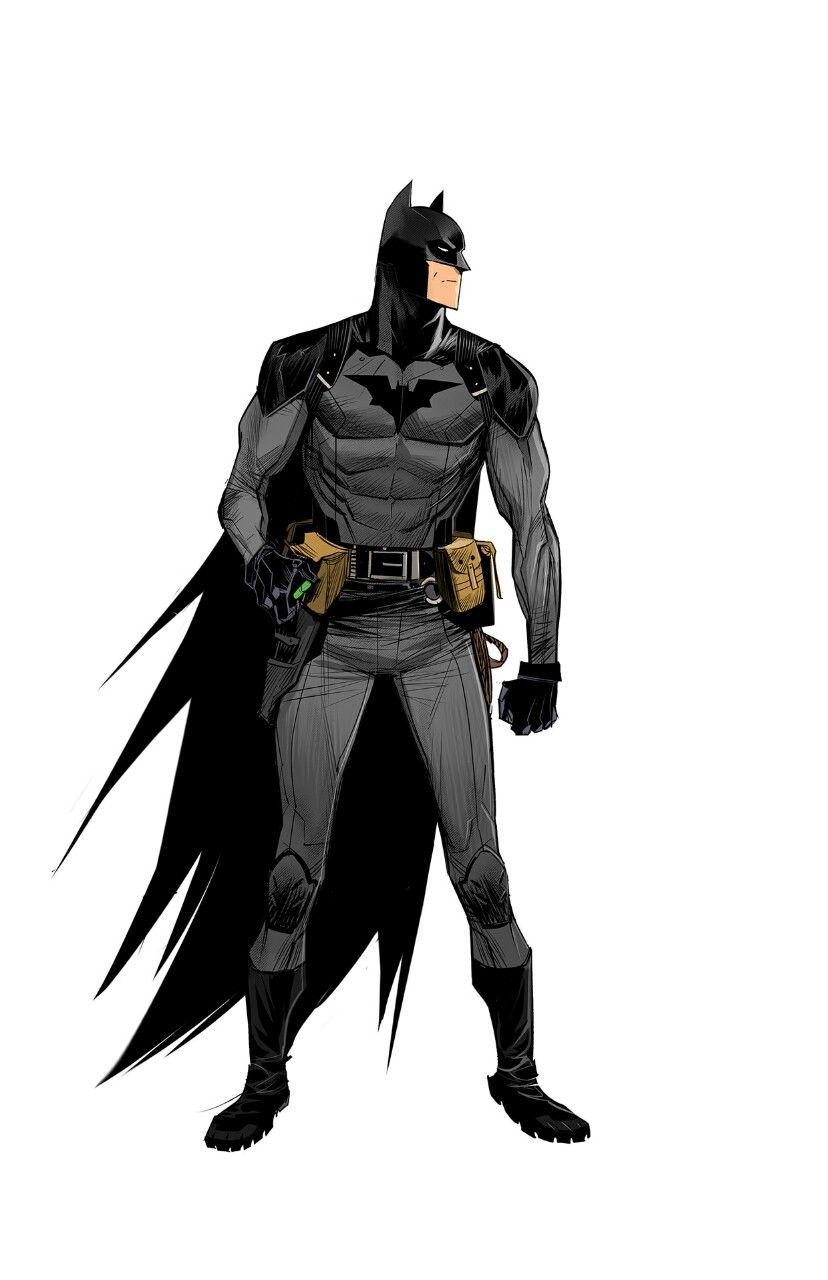 Low Tech Batman by Dan Mora