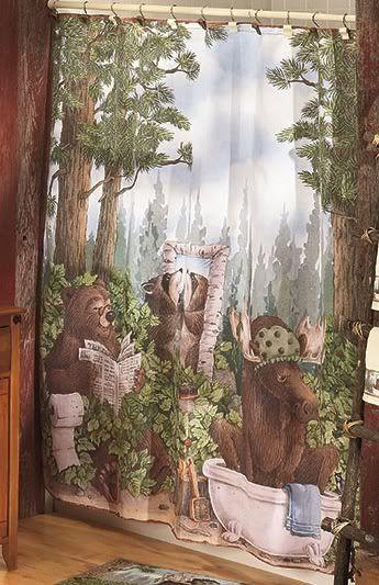 Animal Bath Sets Lodge Details About Bear Lodge Cabin Bathroom