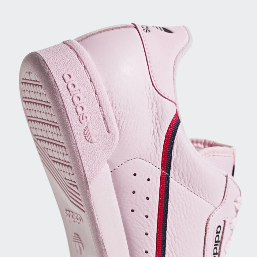 new styles 3f706 1b217 Chaussure Continental 80 Clear Pink  Scarlet  Collegiate Navy B41679