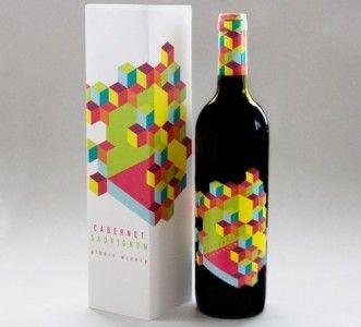 Packaging: 25 Creativas botellas de Vino con diseño exclusivo   by @puromarketing