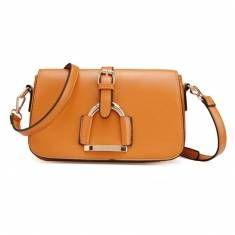 Women PU Leather Tote Evening Clutch Bag Handbag
