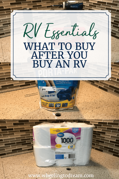 RV Essentials: What to Buy After You Buy an RV
