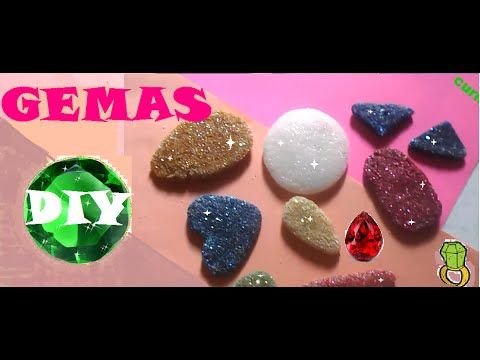 Te muestro como hacer tus propias gemas o piedras for Como hacer color piedra