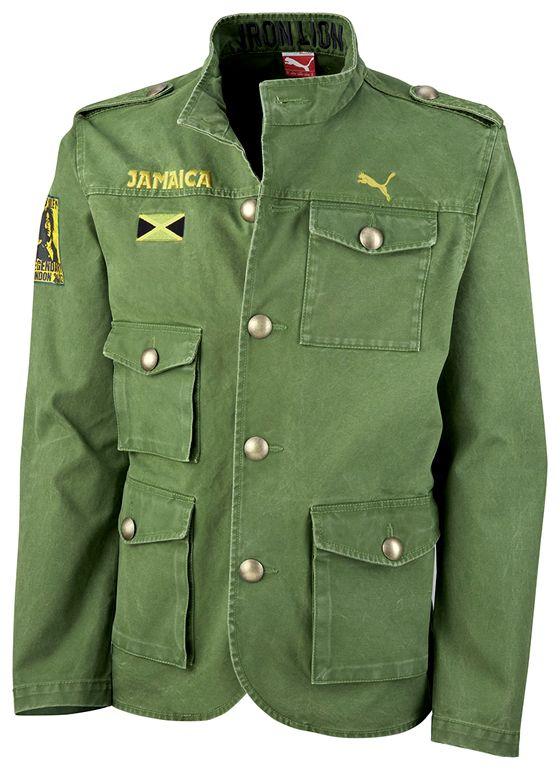 haz Recreación neumático  chaqueta puma jamaica