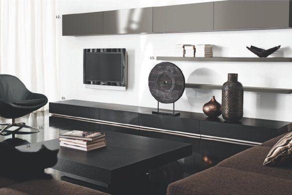 Bo Concept New Modern Wall Shelves Contemporary Living Room Furniture Elegant Living Room Furniture Black Furniture Living Room