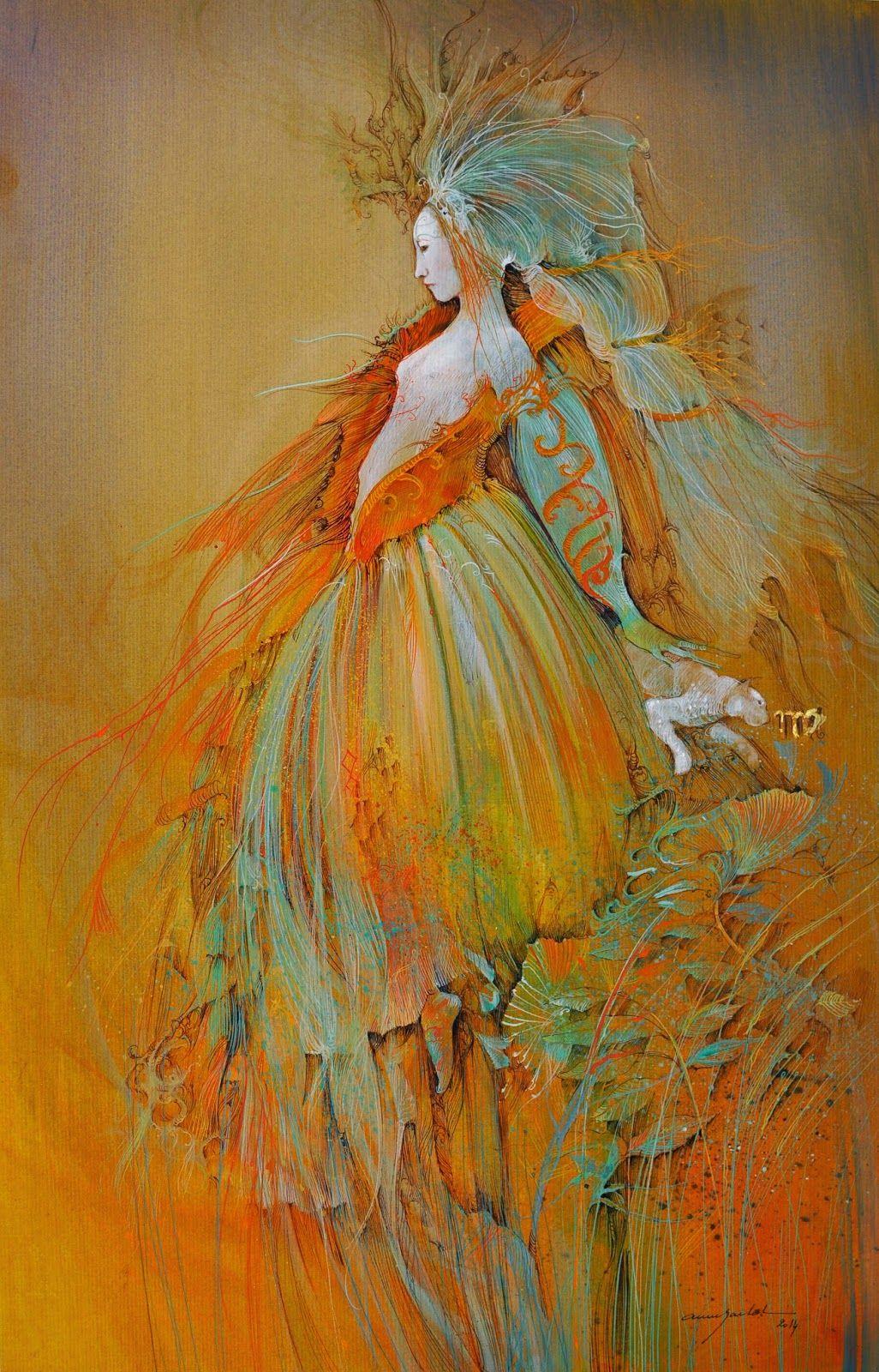 """virgo"" Anne Bachelier April 2015 Inspiration In"