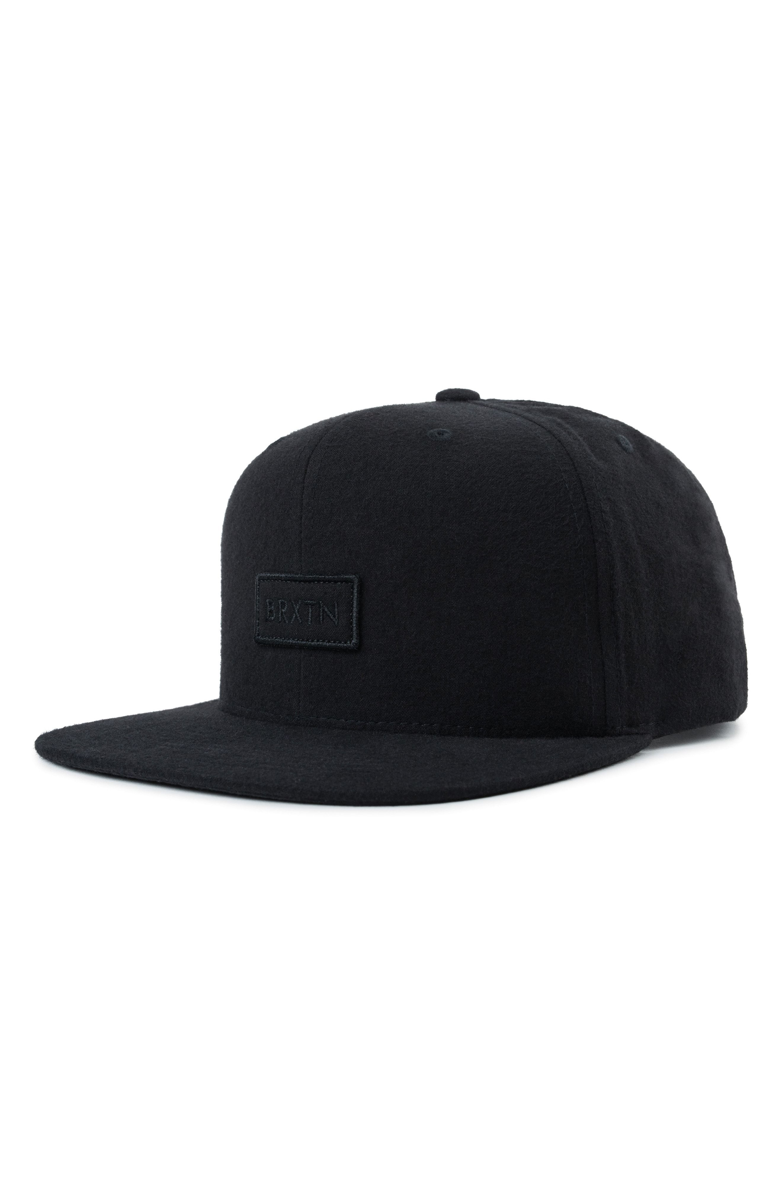 297558968c BRIXTON RIFT II FLAT BRIM BASEBALL CAP - BLACK. #brixton | Brixton ...