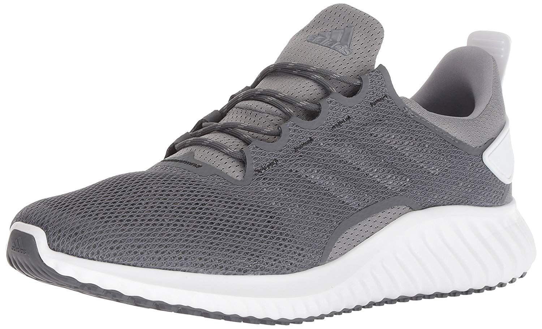 67fbde6355530 adidas Men s Alphabounce CR CC Running Shoe Grey White