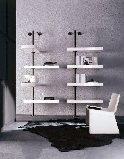 Shelving systems Storage-Shelving Domino Porada T Check - bucherregal systeme presotto highlight wohnraum